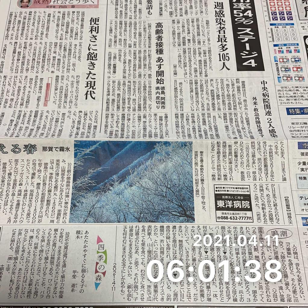 新聞を読むのサムネイル画像