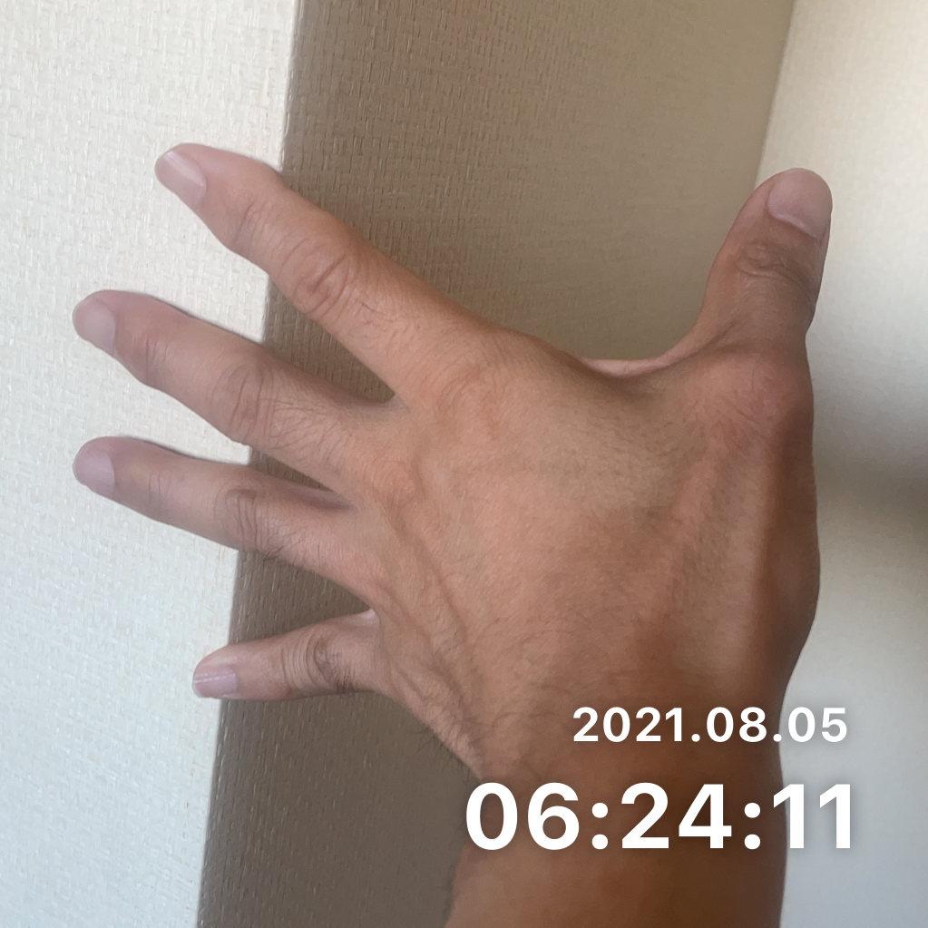 ストレッチをするのサムネイル画像