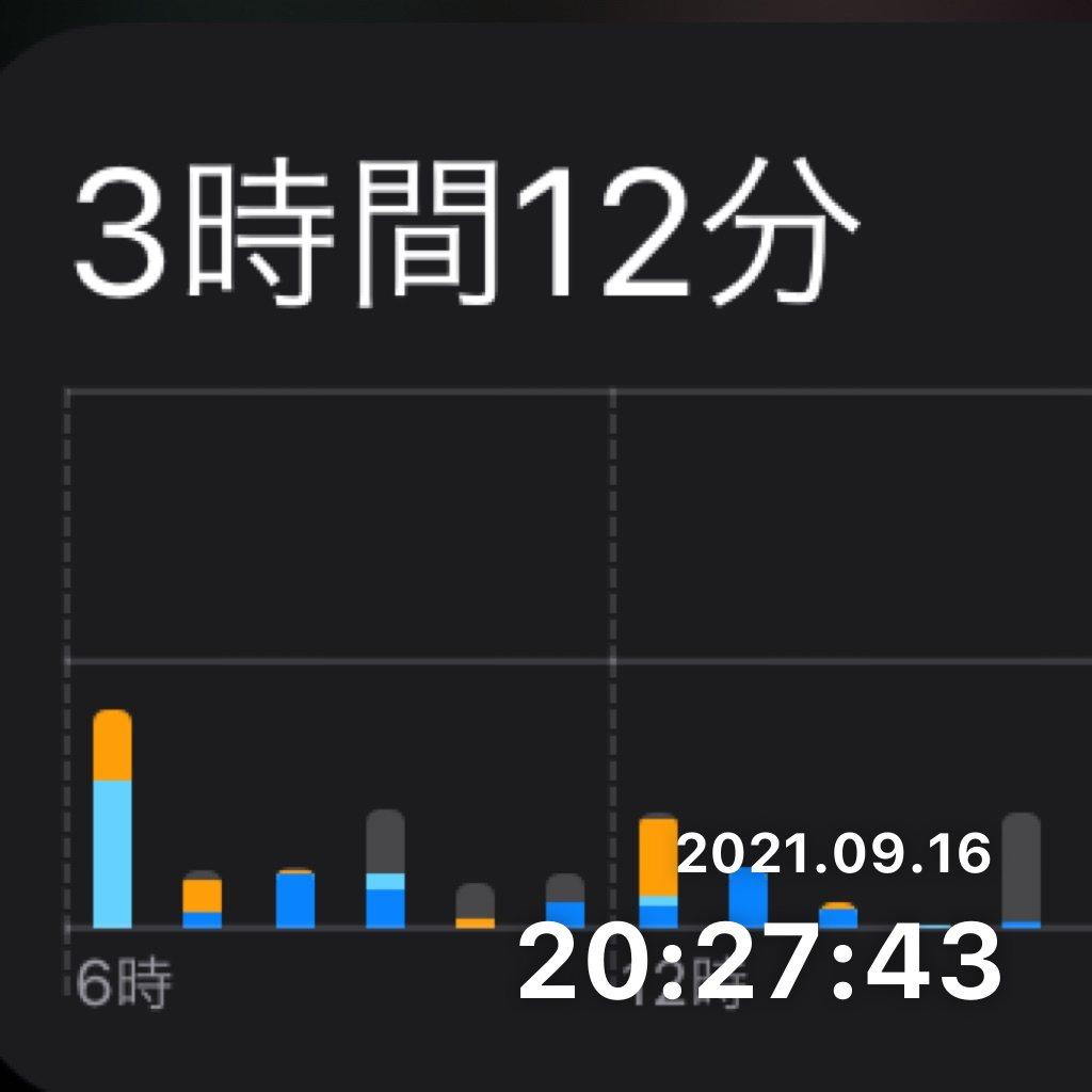 スクリーンタイムの時間を決めた時間以内にするのサムネイル画像