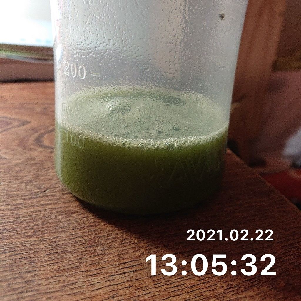 スムージーを飲むのサムネイル画像